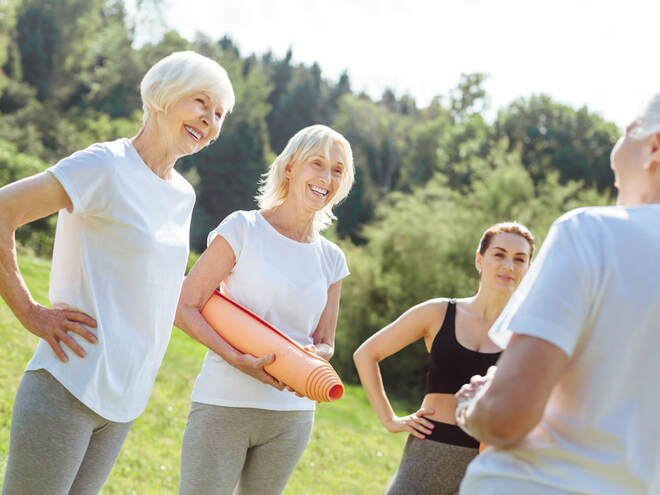 Activities Promoting Healthy Aging